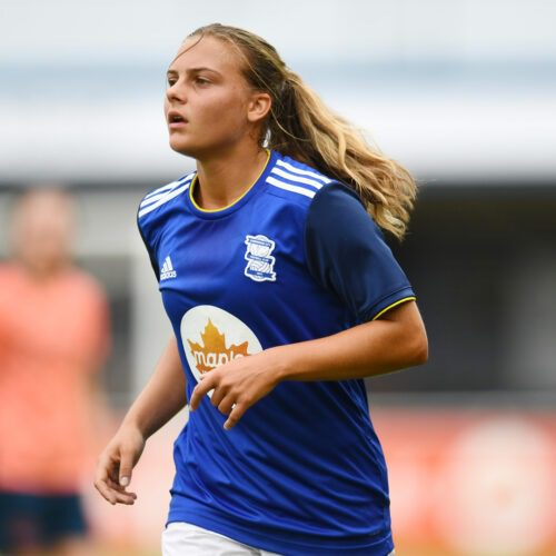 Sarah Mayling Birmingham City Football Player Ladies